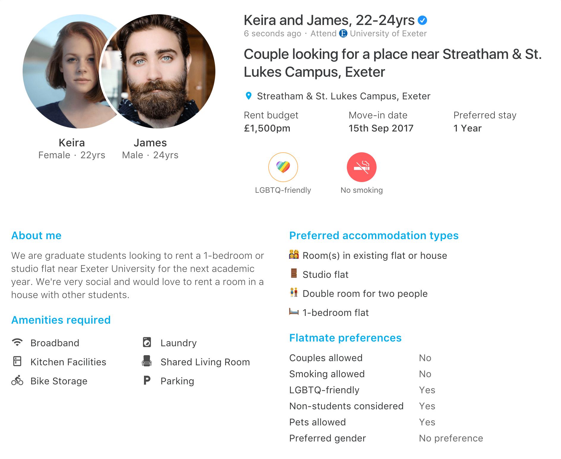 dating uni flatmate at have et gudfuldt datingforhold