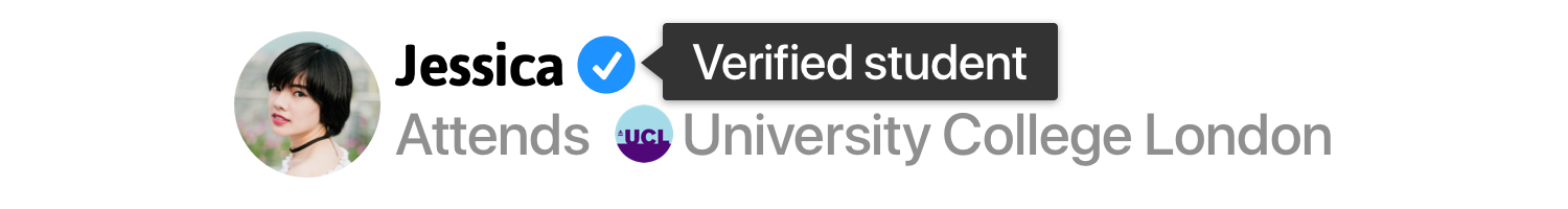 verified student